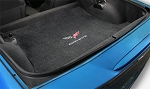 C6 Corvette LLoyd ULTIMAT Rear Cargo Mat - DOUBLE LOGO