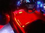 C5 and C6 Super Bright Footwell LED Strip Kit Version 3