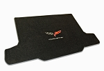 C6 Corvette LLoyd Velourtex Cargo Mat- DOUBLE LOGO