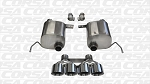 Corsa Sport Axle Back Exhaust- C7 Z06