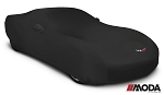 Moda Stretch Black Custom Car Cover for Corvette