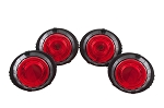 C6 Corvette Halo LED Tail Lights- Set of 4