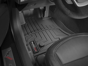 Stingray WeatherTech DigitalFit Floor Liners- Set of 2 in BLACK