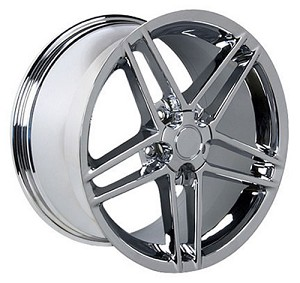 Set of 4 18x9.5/19x10 Chrome C6 Z06 Style Wheels