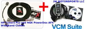 HP Tuners Pro and NGK Powerdex AFX Wideband Combo